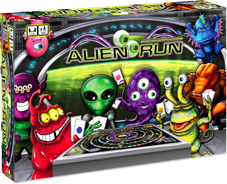 Custom Board Game Alien Run