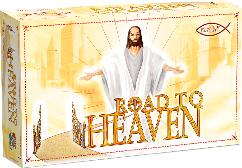 Custom Board Game Road to Heaven