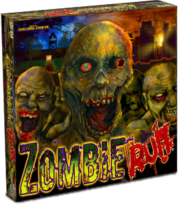 Custom Board Game Zombie Run