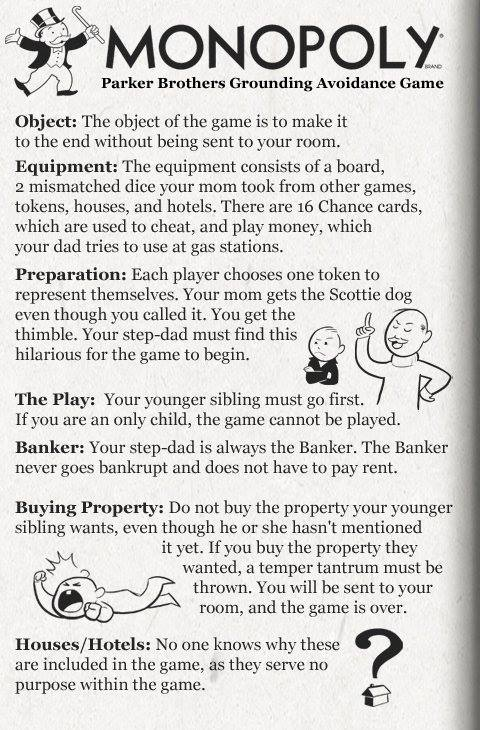 Monopoly Rules for Fun, Game Rules Suggestions