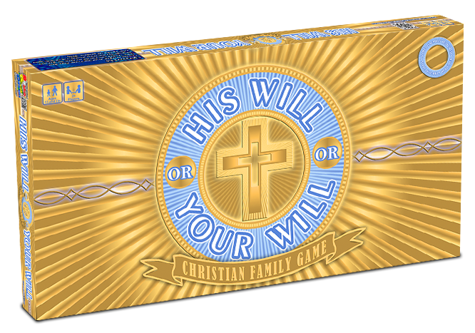 His Will or Your Will Christian Family Board Game