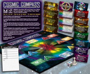 Cosmic Compass Board Game