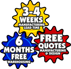 Free Quotes Manufacturing Design, 6 Months Free Warehousing, 3-4 Weeks Lead Time