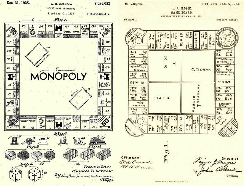 MONOPOLY circa 1904, circa 1935