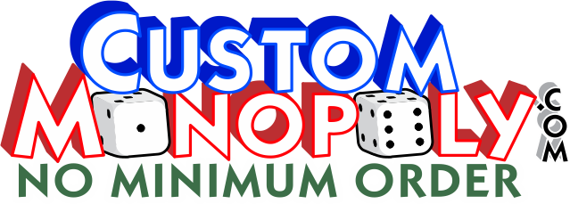CUSTOM MONOPOLY GAMES, CUSTOM MONOPOLY FUNDRAISER, PERSONALIZED MONOPOLY GAMES
